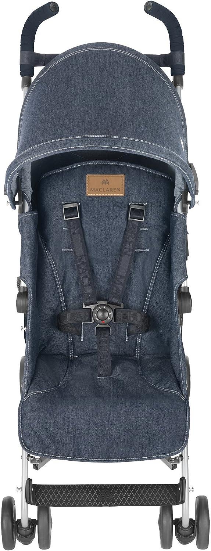 Maclaren Quest - Silla de paseo, diseño denim indigo: Amazon.es: Bebé