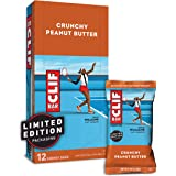 CLIF BAR Crunchy Peanut Butter - Box of 12 (68g each)