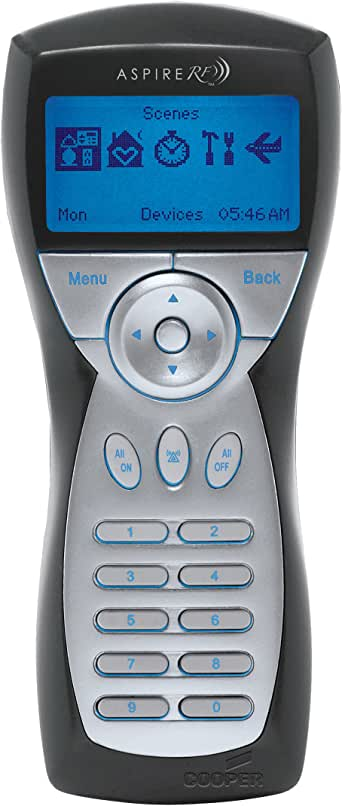 Cooper Rfhdcsg Z Wave Handheld Controller Ceiling Fan