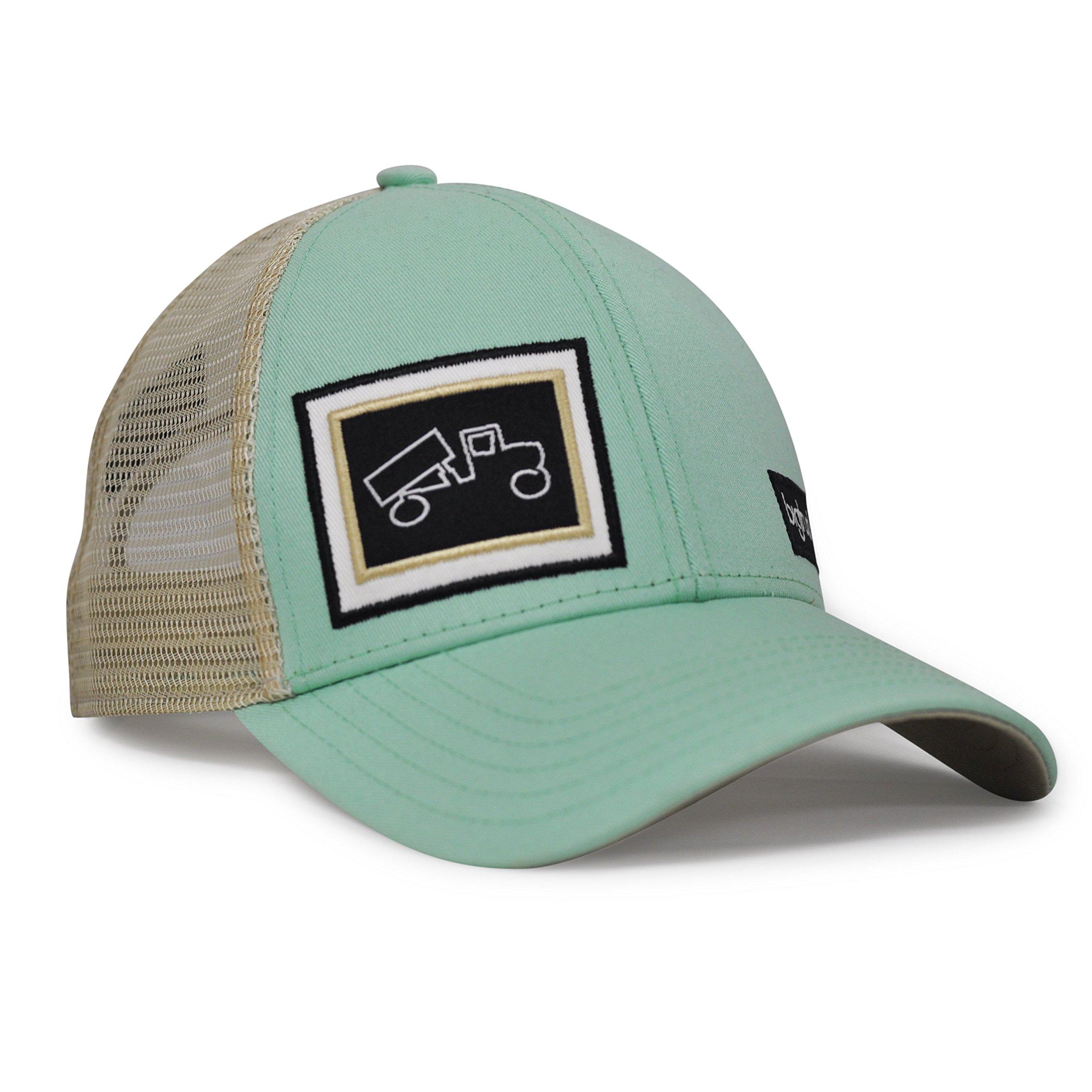 bigtruck Mint Classic Trucker Hat, Mint, 58cm