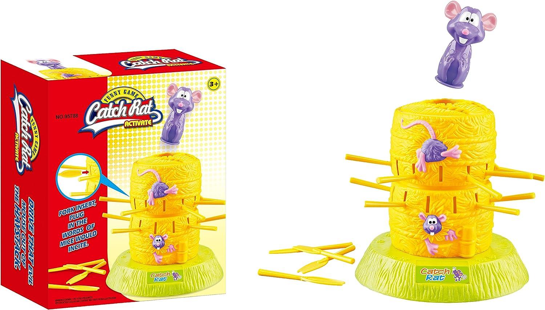 NEO+- Juego de Mesa Salta el Ratón (95788): Amazon.es: Juguetes y juegos