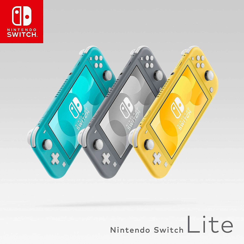 Nintendo Switch Lite - Consola color Gris, Edición Estandar ...