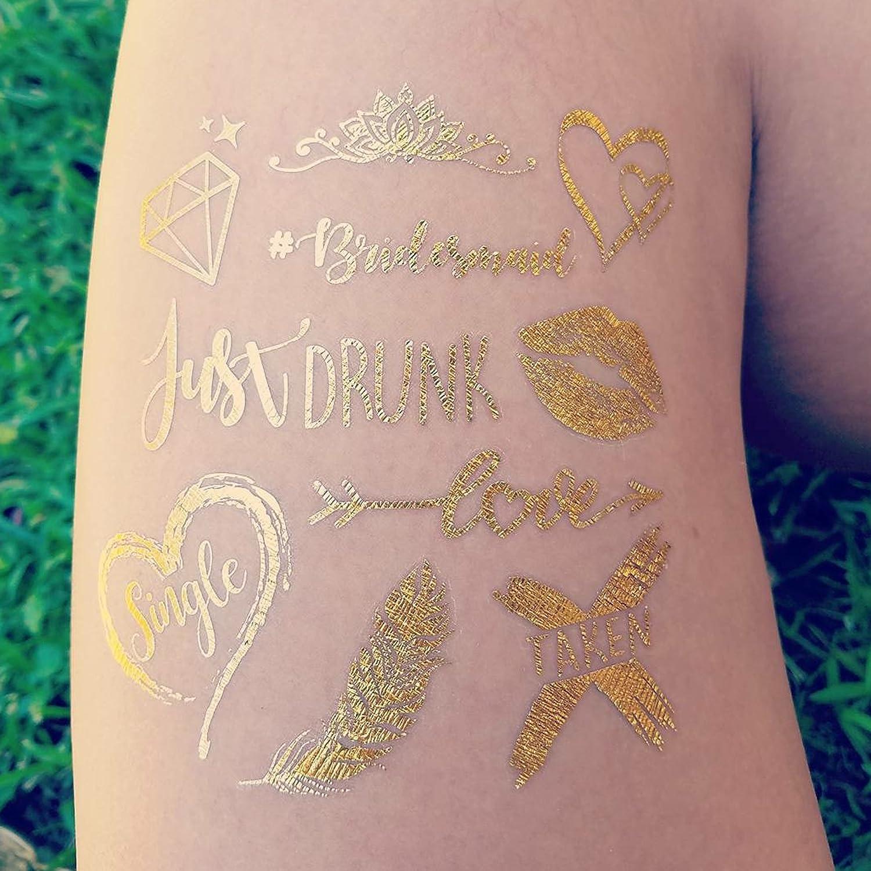 Amazon.com : 119 pc Bachelorette Party Tattoos/Bride Flash Tattoos ...