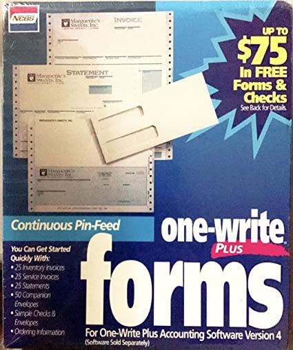 Amazon Com Nebs One Write Plus Forms Version 4 Office Products