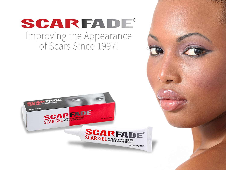 Scarfade Silicone Gel For Scar Repair 15g Health Ql Eyebrow Cream 15gr Personal Care