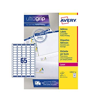 avery self adhesive mini organising return address labels laser