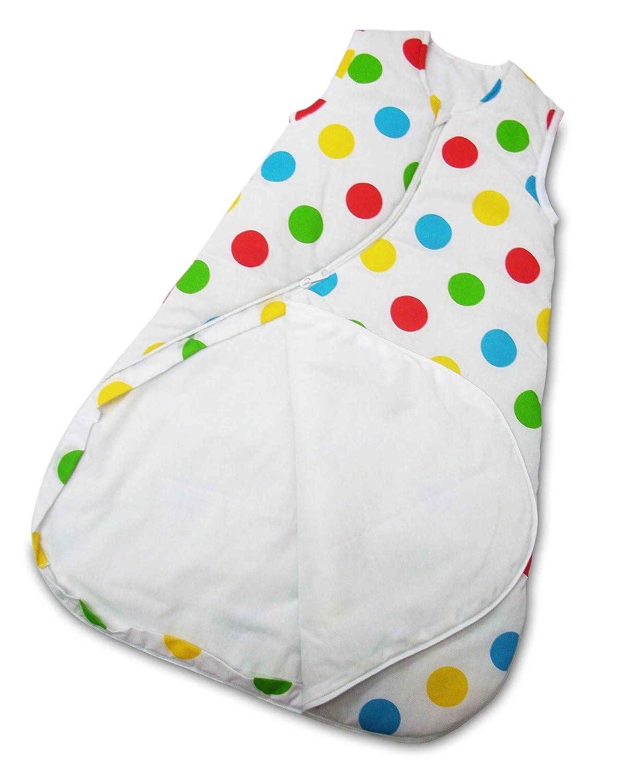 Koo-di SleepSac by PurFlo Polka Dot, 0-3 Months Baby Sleeping Bag 1.0 Tog