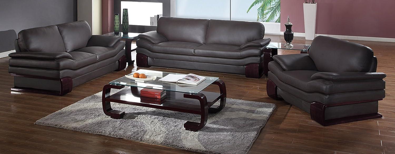 Incredible Amazon Com Blackjack Furniture 728 Brown Sofa Set Leather Andrewgaddart Wooden Chair Designs For Living Room Andrewgaddartcom