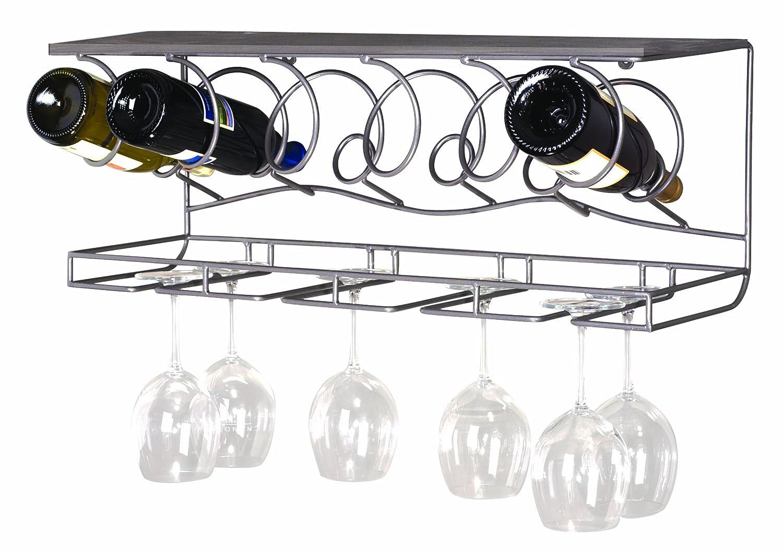 wine glass shelf wall mounted