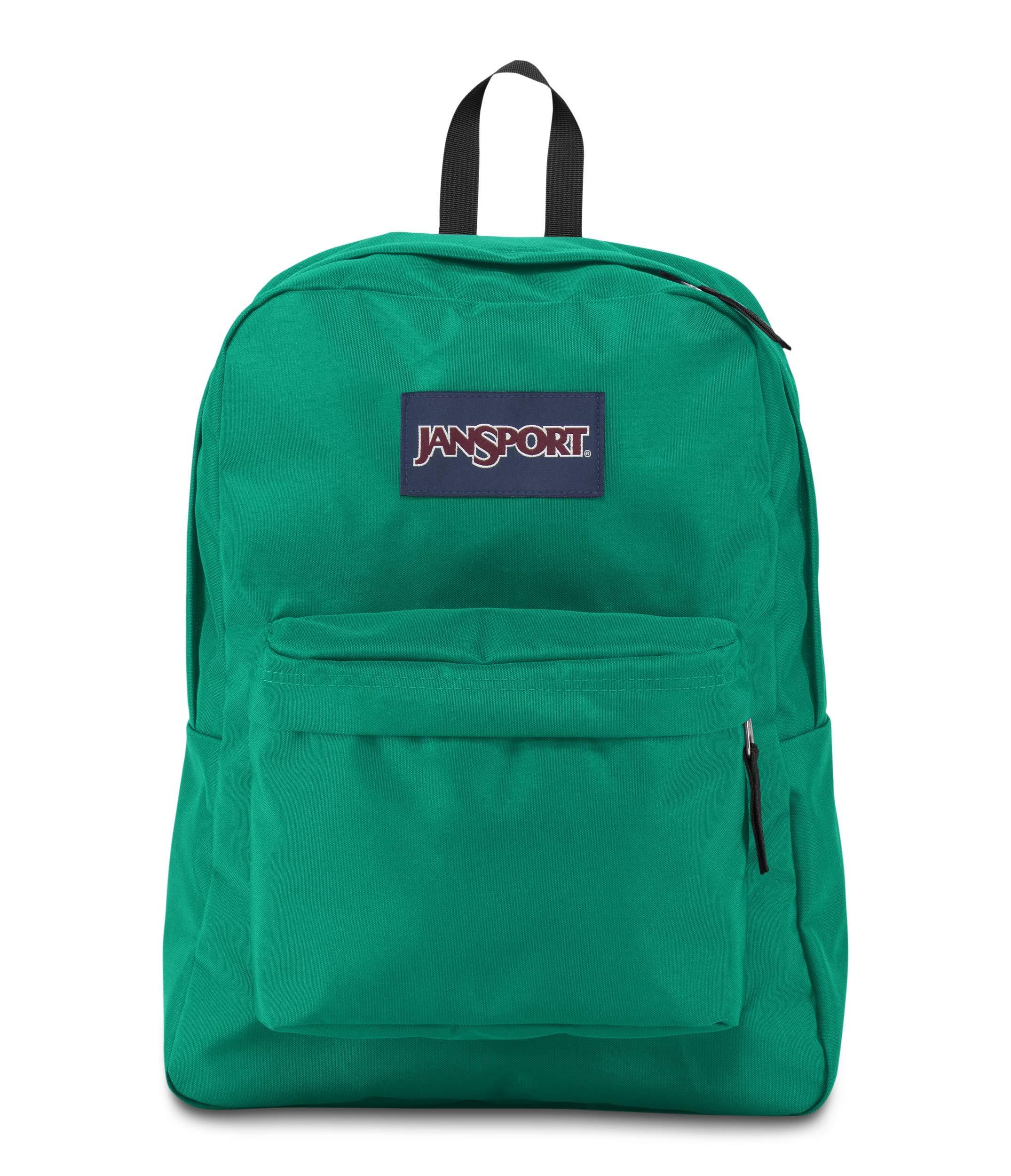 JanSport JS00T5013P5 Superbreak Backpack, Varsity Green