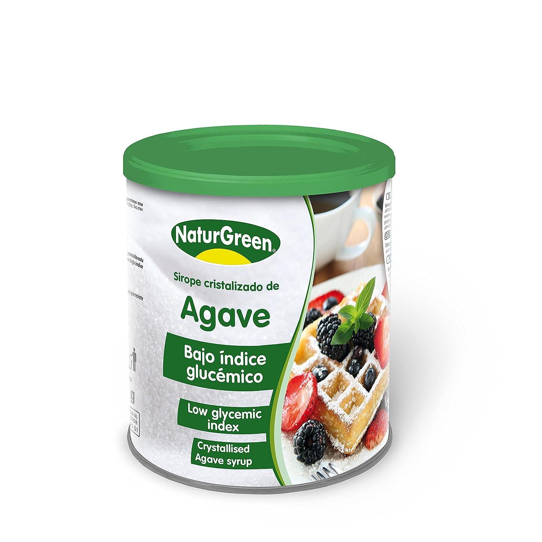Sirope de agave Ecológico EN POLVO (500 gr) NATURGREEN: Amazon.es ...