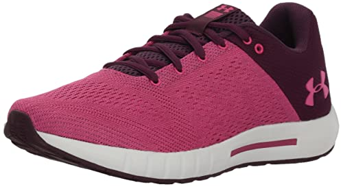 UA W Micro G Pursuit, Zapatillas de Running para Mujer, Rojo (Merlot), 36 EU Under Armour