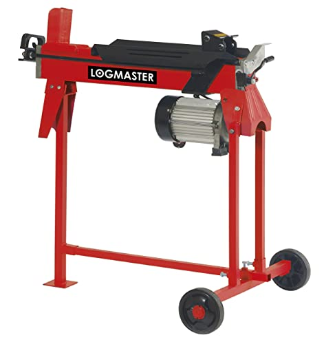 Electric Log Splitter 7 Ton Wood Cutter With Work Stand