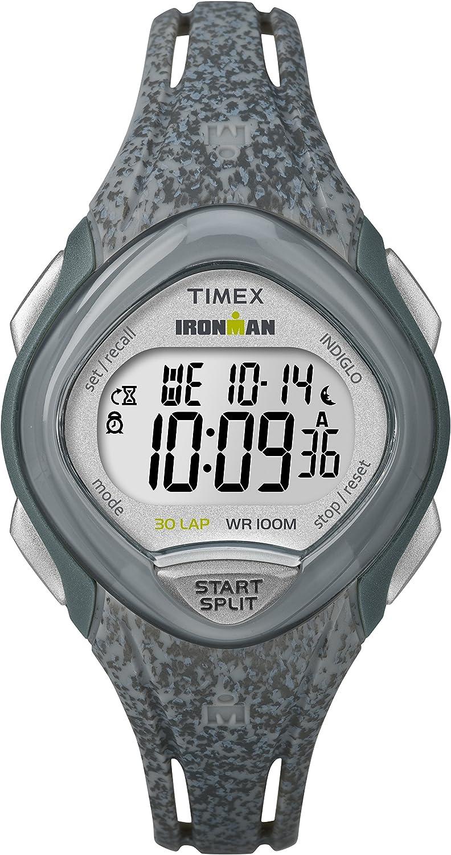 Timex Ironman 30-Lap Mid Size Sleek Core Grey One Size