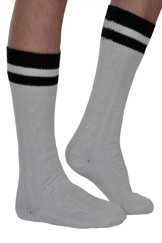 Herren Trachtensocken Kniebundstrümpfe Zopf Socken in Größe 40 bis 46 sowie verschiedene Farben
