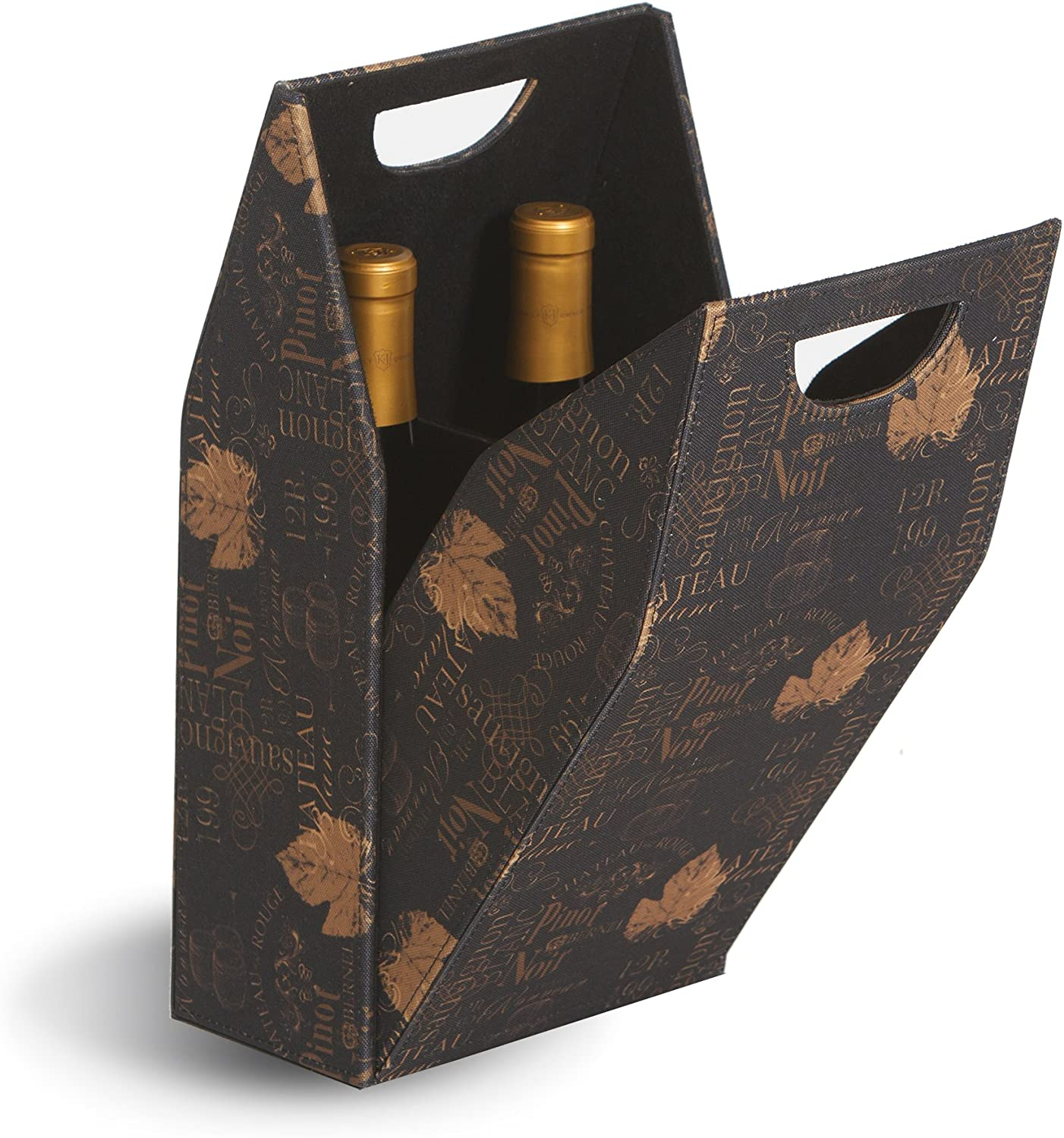 Picnic Plus Double Bottle Cork Covered Tote 274737