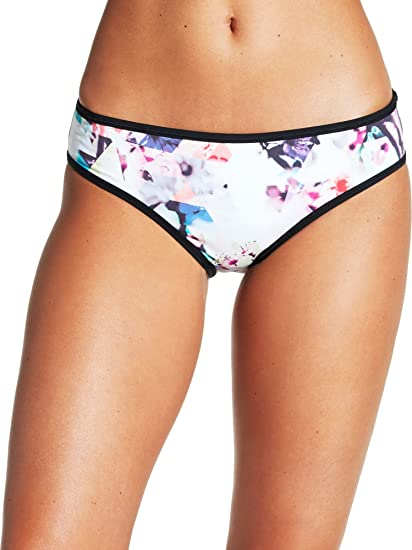 4a9958d56dd12 Amazon.com: CALIA by Carrie Underwood Women's Printed Banded Bikini  Bottoms, (Floral Geo, XL): Home & Kitchen