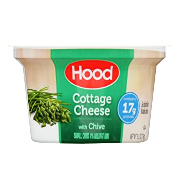 Brilliant Hood Cottage Cheese With Chive Single Serve 5 3Oz Home Interior And Landscaping Palasignezvosmurscom