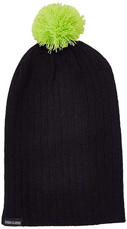 10d2c135612 Amazon.com  Urban Classics Neon Contrast Bobble Beanie  Sports ...