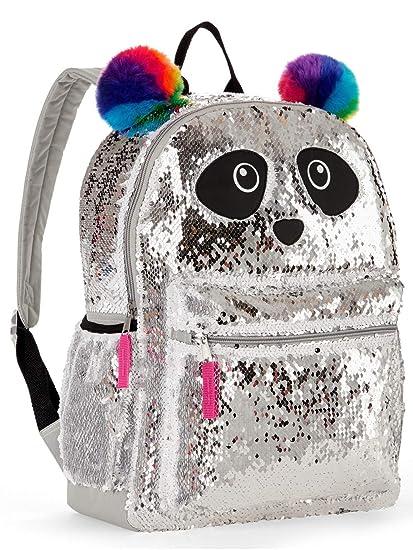 3c8769f9baba Panda 2 Way Sequins Critter Backpack 16