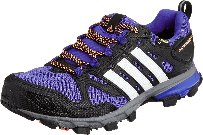 Permeabilidad Deber agrio  Amazon.com | adidas Response Trail 21 GTX Women's Running Shoes - SS15-9 -  Purple | Running