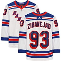 $379 » Mika Zibanejad New York Rangers Autographed White Adidas Authentic Jersey - Autographed NHL Jerseys