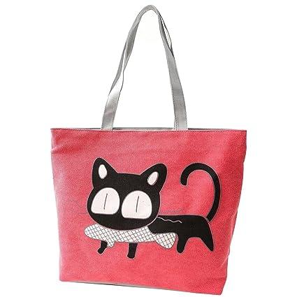 Amazon.com: Bolsos de Mano – SODIAL (R) niña Cat comer ...