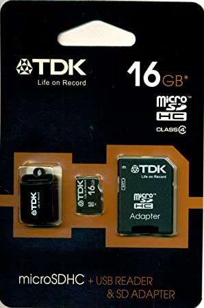 TDK T79106 - Tarjeta de Memoria Micro SD de 16 GB con ...