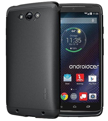 Motorola DROID Turbo Funda, TUDIA ultra delgado LITE TPU caso de parachoques de protección Funda
