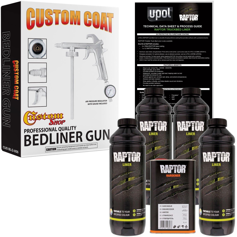 Amazon U POL Raptor Tintable Urethane Spray Truck Bed Liner