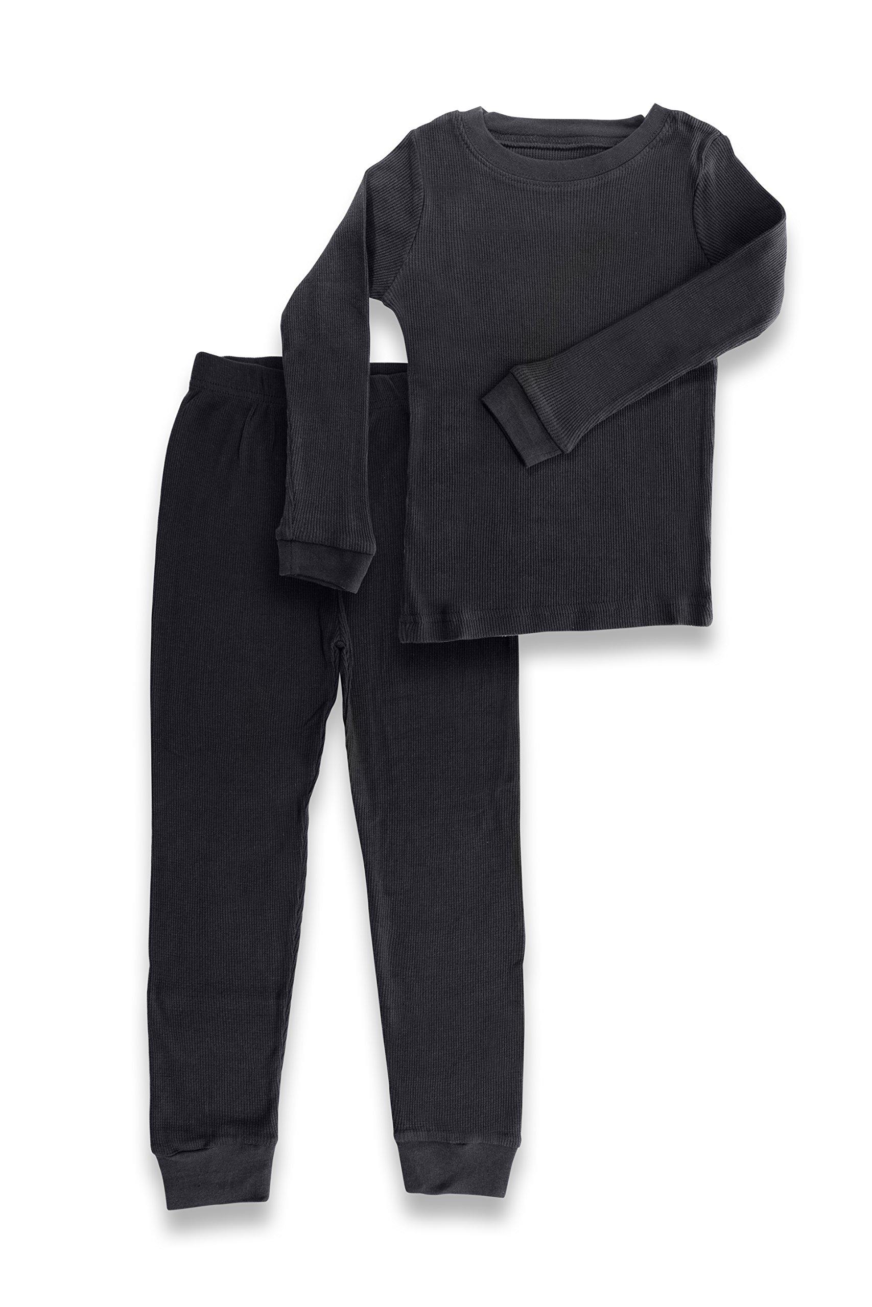 Artic Pole Boys Thermal Underwear Set 5/6 Black