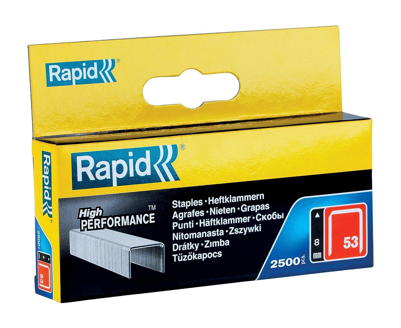 RAPID 11857025 Grapas 053//8 mm Set de 2500 Piezas