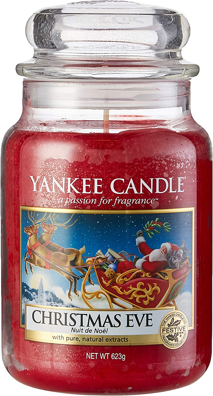 Yankee Candle Company Christmas Eve Large Jar Candle