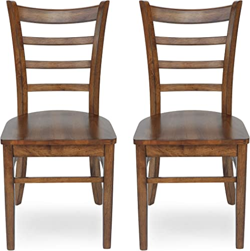 Christopher Knight Home Frederica Farmhouse Wooden Dining Chairs Set of 2