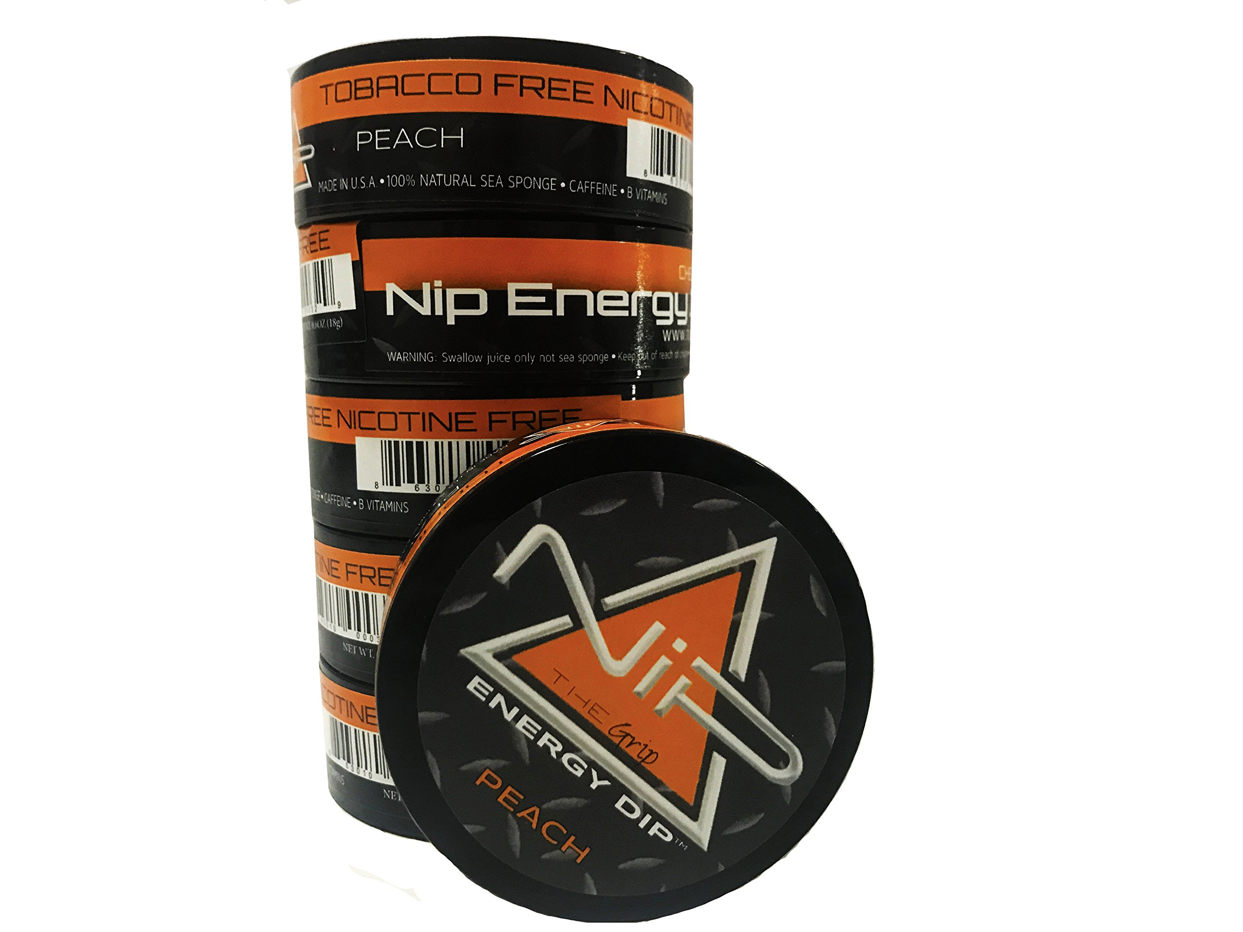 Nip Energy Dip Peach 6 Pack Dip Alternative