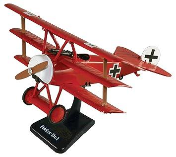 SL-1 FOKKER DR.I 1917 triplane diecast 1:72 model