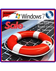 WINDOWS 7 Professional 64 Bit Compatible Versions Re-install Windows Factory Fresh! Recover, Repair, Re Install - Restore Boot Disc ~ Fix PC - Laptop - Desktop ~DVD/ROM