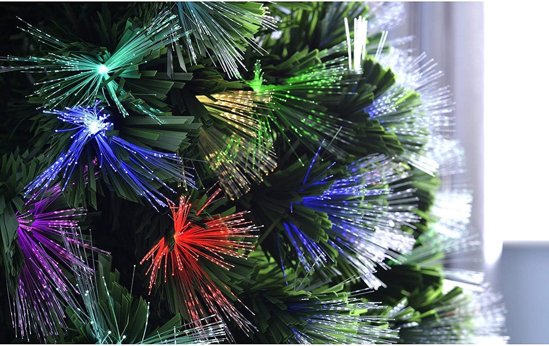 Gifts 4 All Occasions Limited SHATCHI-432 Sapin de No/ël en fibre optique Multicolore 60 cm