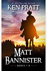 Matt Bannister: Books 1-9 Kindle Edition
