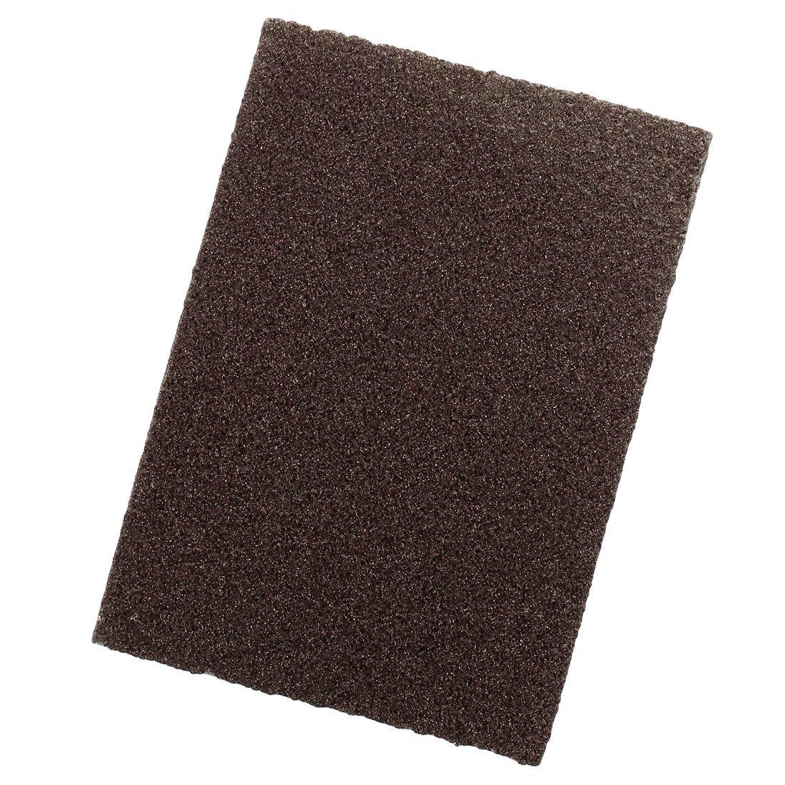 XZANTE Esponja de Lijado Cepillo magico Limpio desincrustante Flexible Fino de carborundo de Area Grande Granate