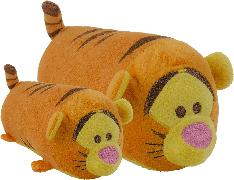 Disney Tsum Tigger Squeak Juguete para Perro, pequeño, 15,2 cm