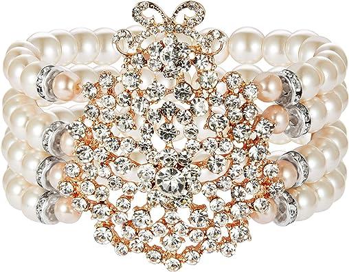 ArtiDeco 1920s Armband Perlen