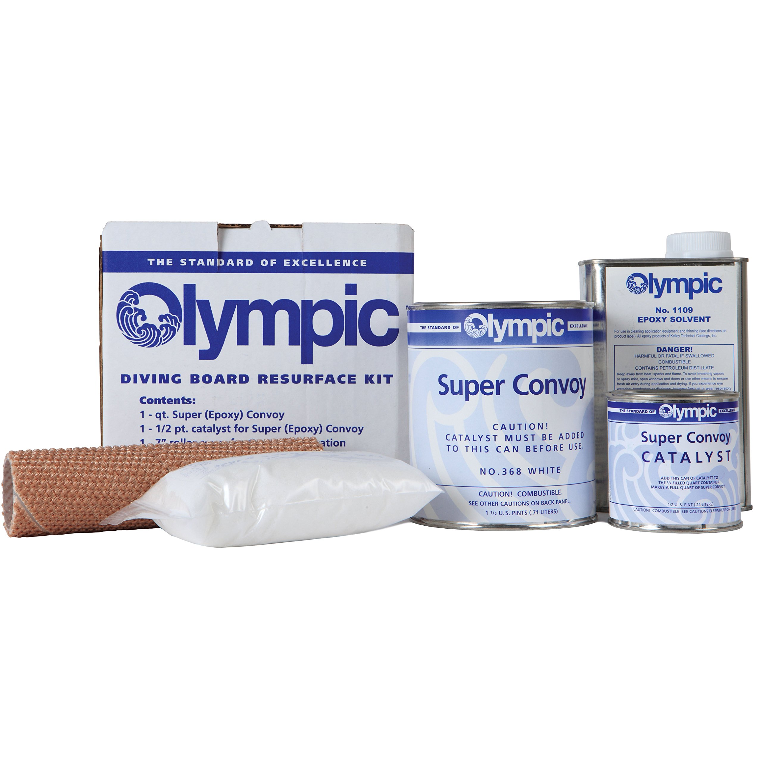 Olympic Diving Board Resurfacing Kit - Blue Finish by Kelly Technical