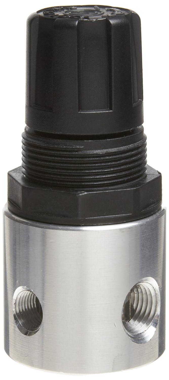 No Gauge 19 scfm Parker R344-02A Regulator 1//4 NPT Relieving Type 0-30 psi Pressure Range