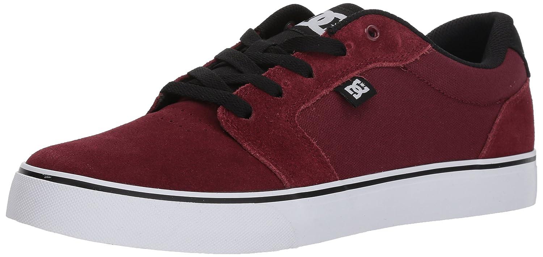 DC Men's Anvil Skate Shoe 11.5D D US|Cabernet