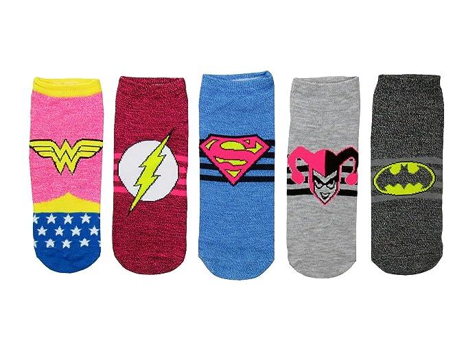 59d6638452d Hypnotic Hats Women s DC Characters Space Dye Wonder Socks 5 Pack (Shoe  Size 4-