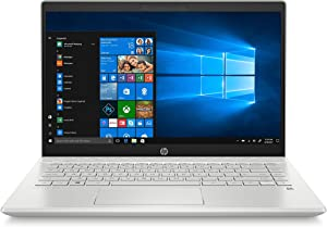 "HP Pavilion 14-ce2064st 14"" FHD IPS Laptop, Intel i5-8265U Processor, 8GB Memory, 256 GB SSD, Backlit Keyboard, Silver, Win 10 Home"
