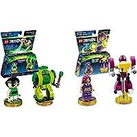 Lego Dimensions Girls Bundle of 2 - Powerpuff Girls Fun Pack (71343) and Teen Titans Go! Fun Pack (71287)