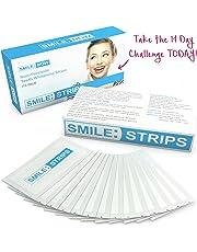 Teeth Whitening Strips - Zero Peroxide - Fluoride Free - Whiten Teeth - Enamel Safe! Promising Shades Whiter For That Whiter Smile You're After!
