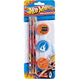 Anker Hotwheels Pencil and Eraser Set
